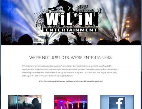 Wilin Entertainment DJ Website